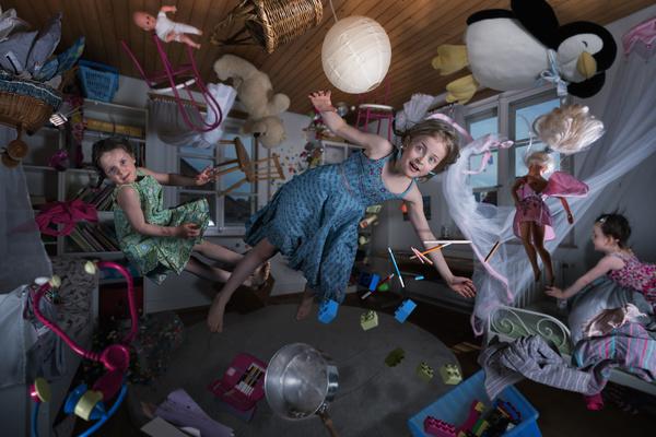 Schwerelos im Kinderzimmer