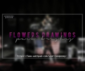 Flowers Blurs Photoshop Brushes