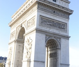 French Arc de Triomphe HD picture