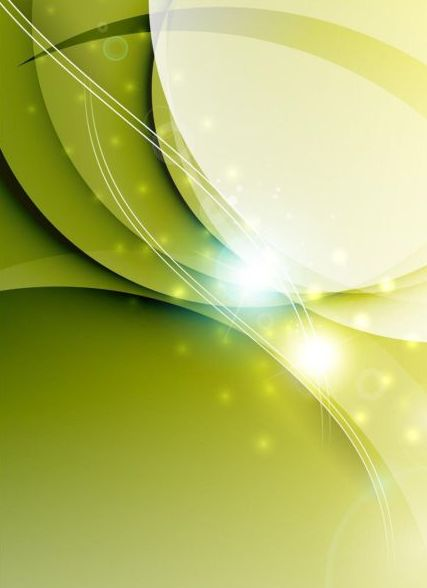 Fresh green background abstract vector 01