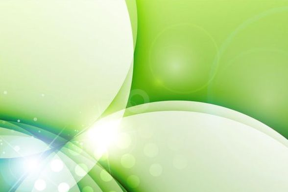 Fresh green background abstract vector 02