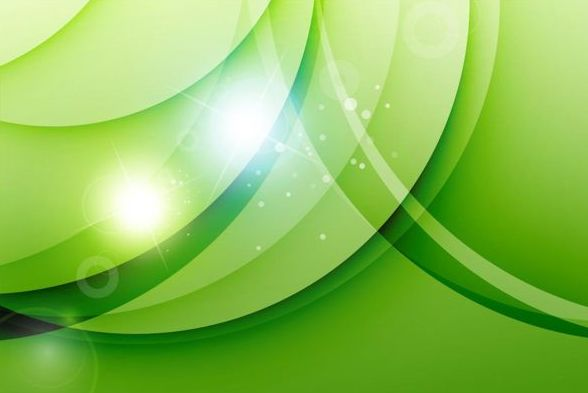 Fresh green background abstract vector 03