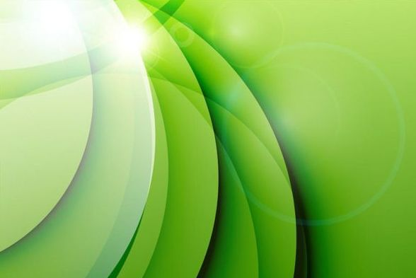Fresh green background abstract vector 04