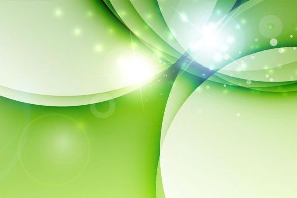Fresh green background abstract vector 05