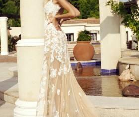 Girl in beautiful dress HD picture