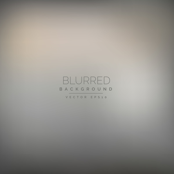 Gray blurred background vector