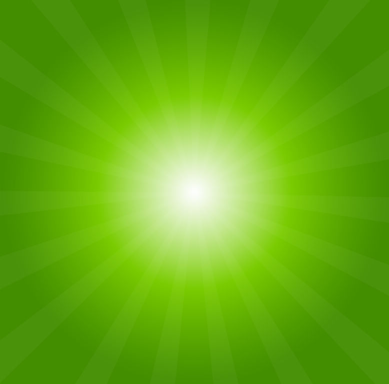Green Light Burst Abstract Background vector