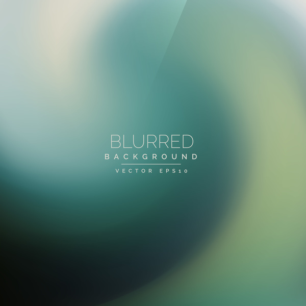Green gradient blurred background vector 01
