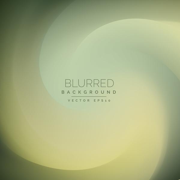 Green gradient blurred background vector 02