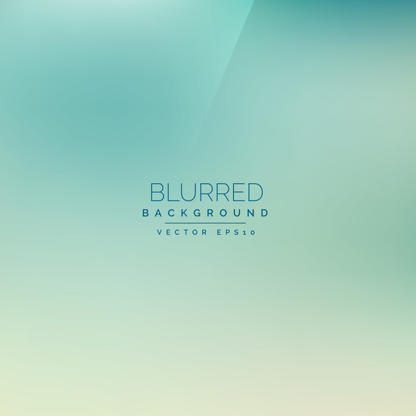 Green gradient blurred background vector 03