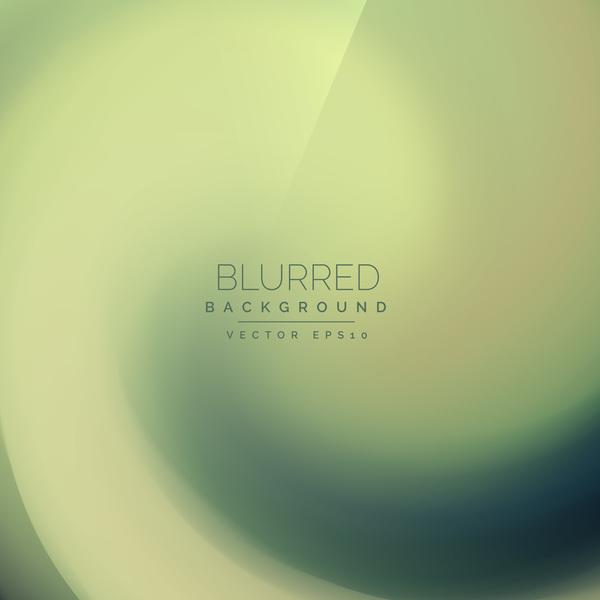 Green gradient blurred background vector 04