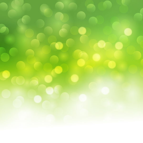 Green halation with bokeh background vector 01