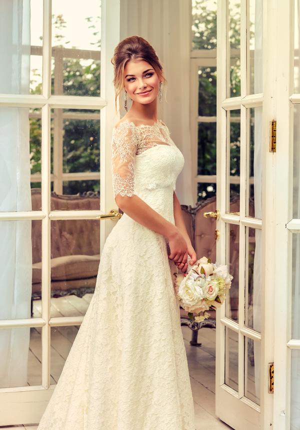 Happy bride HD picture