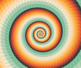Infinity spiral abstract paper background vector 01