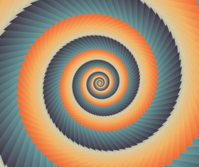 Infinity spiral abstract paper background vector 02