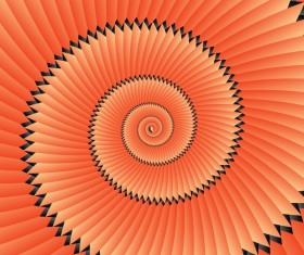Infinity spiral abstract paper background vector 04