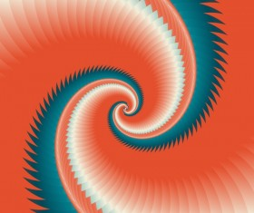 Infinity spiral abstract paper background vector 06