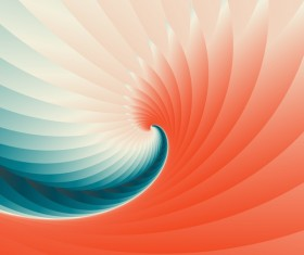 Infinity spiral abstract paper background vector 08