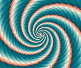 Infinity spiral abstract paper background vector 09