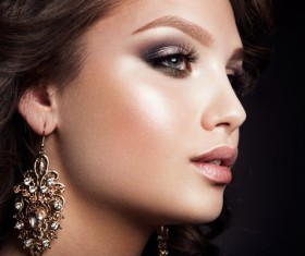 Makeup attractive girl HD picture