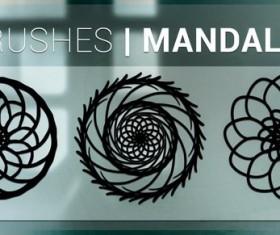 Mandala Style Photoshop Brushes