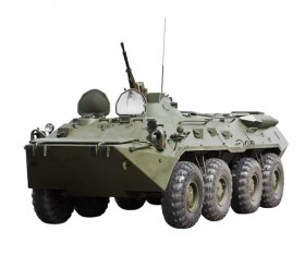 Military armored vehicles Stock Photo