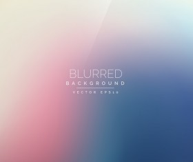 Multicolored blurred background vector material 02