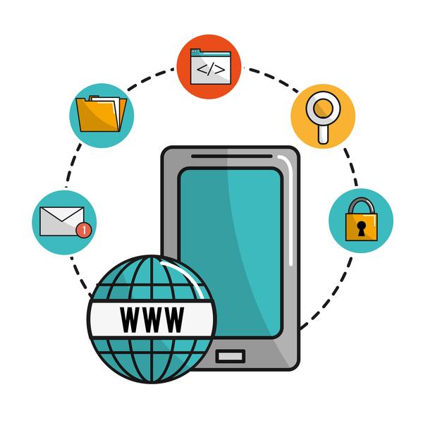 Network internet business template vector design 02
