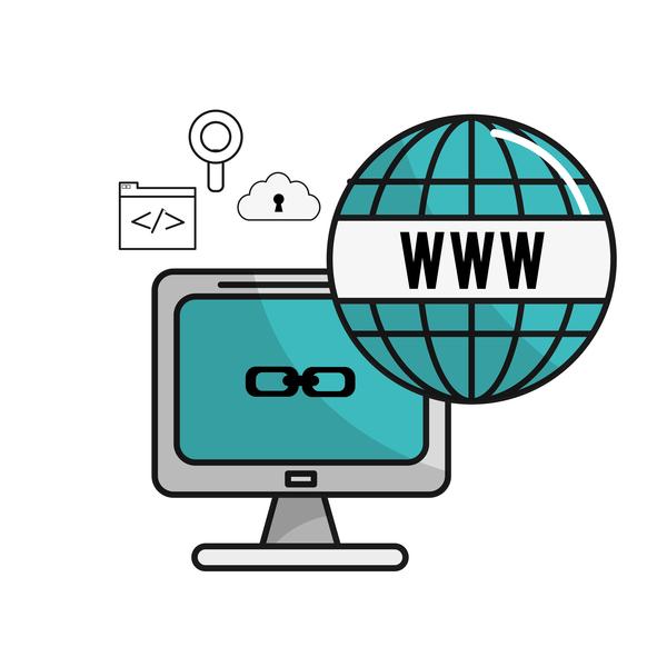 Network internet business template vector design 06