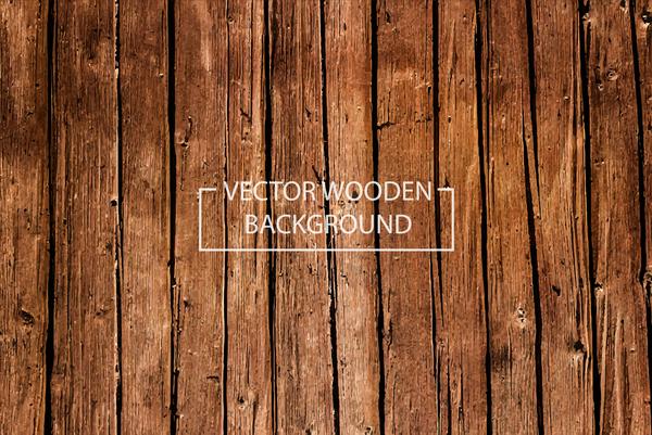 Old wooden texture background vectors
