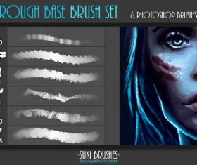 Rough Base Photoshop Brushes