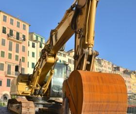Site excavator Stock Photo
