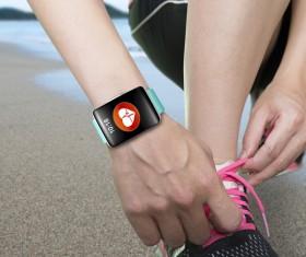 Smart sports watch Stock Photo 05