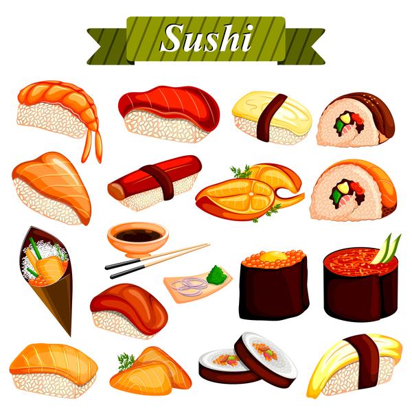 Sushi vector design