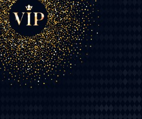 VIP luxury background template vectors 02