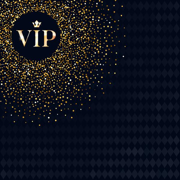 VIP luxury background template vectors 02