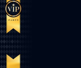 VIP luxury background template vectors 04