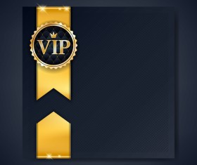 VIP luxury background template vectors 05