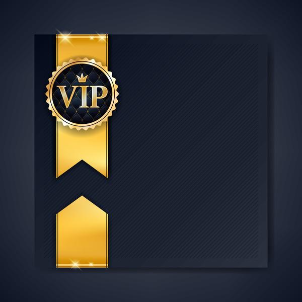 VIP luxury background template vectors 05