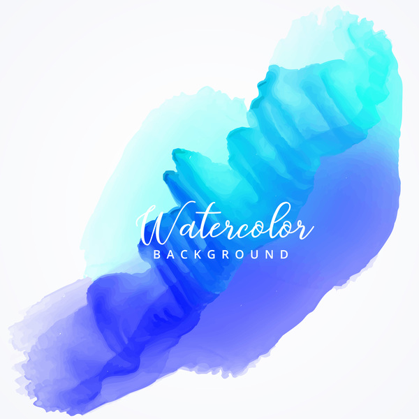 Watercolor with stains vector background 03