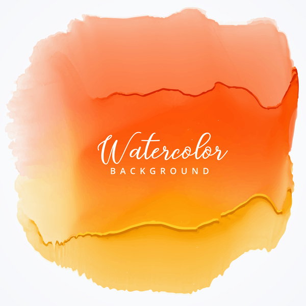 Watercolor with stains vector background 05
