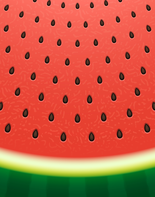 Watermelon background design vector 01