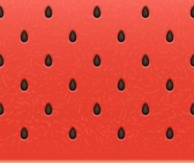 Ripe watermelon seamless pattern vector 02