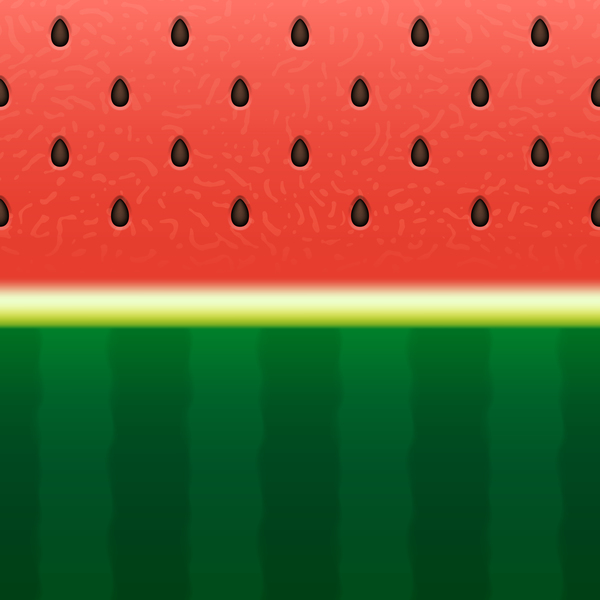 Watermelon background design vector 05