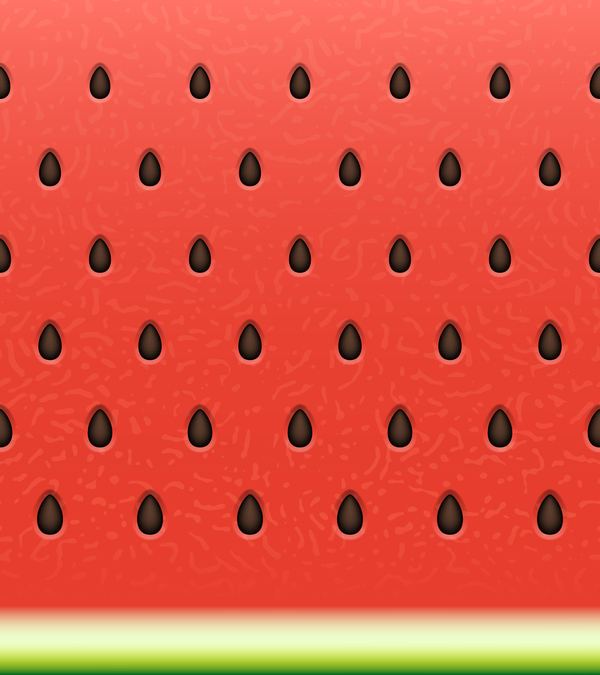 Watermelon background design vector 06