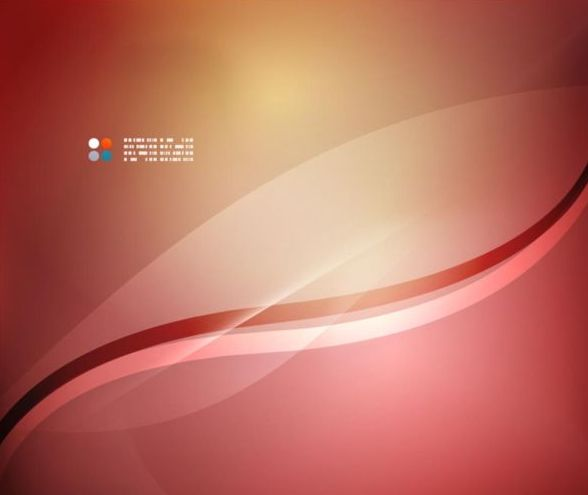 Wine red abstract background with wavy lines vector 02
