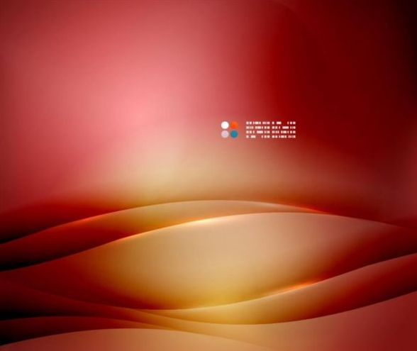 Wine red abstract background with wavy lines vector 07