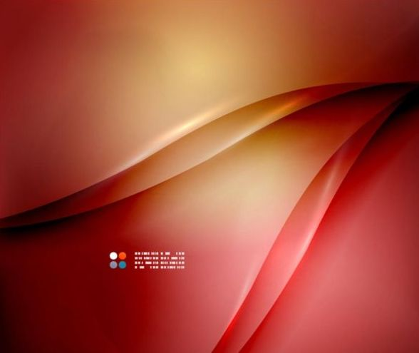Wine red abstract background with wavy lines vector 08