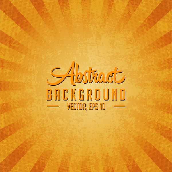 Yellow grunge background vectors