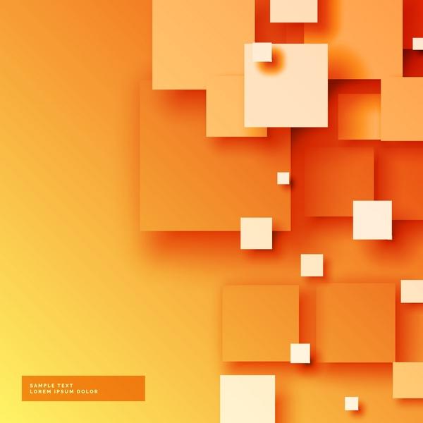 Yellow modern background vectors